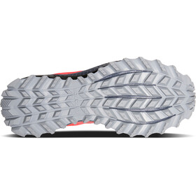saucony Peregrine 8 Shoes Women Vizipro Red/Black/Grey